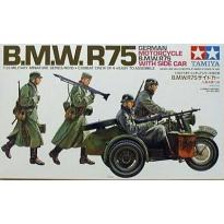 B.M.W.R75 With Side Car (1:35)
