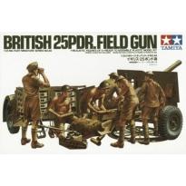 British 25Pdr. Field Gun (1:35)