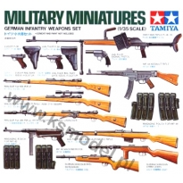 German Infantry Weapons Set (1:35)