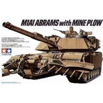 M1A1 Abrams with Mine Plow (1:35)