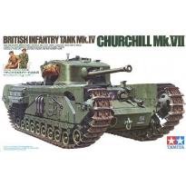 British Infantry Tank Mk.IV Churchill Mk.VII (1:35)