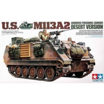 U.S. M113A2 Armored Personnel Carrier Desert Version (1:35)