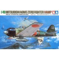 Mitsubishi A6M3 Zero Fighter (Hamp) (1:48)