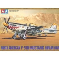 North American F-51D Mustang Korean War (1:48)