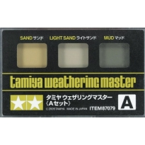 Tamiya Weathering Master A Set (Sand, Light Sand & Mud)
