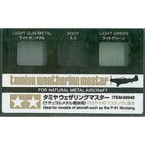 Tamiya Weathering Master Natural Metal