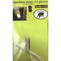 Sparking Plugs (14 świec do silnika) (1:32)