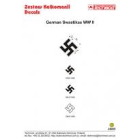 German WWII Swastikas (1:24)