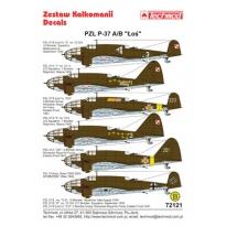 PZL-37A/B Łoś (1:72)