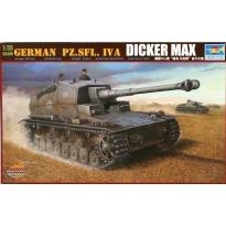 """German Pz.Sfl.IV A """"Dicker Max"""" (1:35)"""