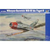 Mikoyan-Gurevich MiG-15 bis Fagot-B (1:48)
