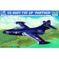 "U.S.Navy F9F-2P ""Panther"" (1:48)"