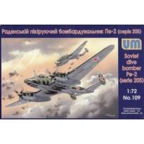 Soviet bomber Pe-2 (serie 205) (1:72)