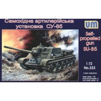 Self-propelled gun SU-85 (1:72)