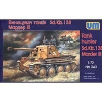 Tank Hunter Sd.Kfz.138 Marder III (1:72)