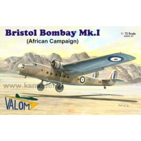 Bristol Bombay Mk.I (African campaign) (1:72)