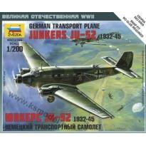 German transport plane Junkers Ju 52 1932-1945 (1:200)
