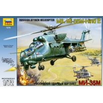 MIL Mi-35M Hind E Russian Attack Helicopter (1:72)