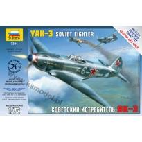 Zvezda 7301 Yak-3 Soviet Fighter (1:72)