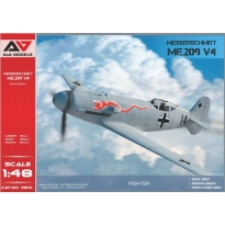 Me.209 V-04  high-speed experimental prototype (1:48)