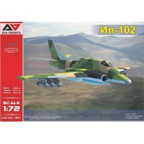 IL-102 Experimental ground-attack aircraft (1:72)