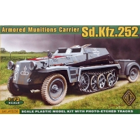 Armored Munitons Carrier Sd.Kfz.252 (1:72)