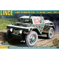 "Light Armored Car Lince Pz.Sp.Wg. ""Lince"" 202(i) (1:72)"