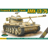 French light tank AMX-13/75 (1:72)