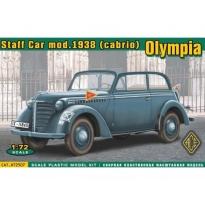 Staff Car Olympia (cabrio) Mod. 1938 (1:72)