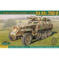 L.Schutzenpanzerwagen 7,5 cm Sd.Kfz.250/8 (1:72)