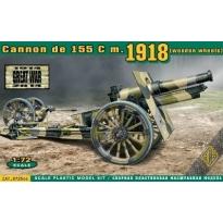 Cannon de 155 C m.1918 (Wooden Wheels) (1:72)