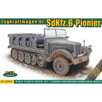 Zugkraftwagen 5t SdKfz.6 Pionier (1:72)