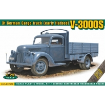 V-3000S 3t German cargo Truck (early flatbed) (1:72)