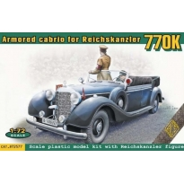 Armored cabrio for Reichskanzler 770K (1:72)