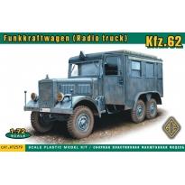Kfz.62. Funkkraftwagen ( Radio truck ) (1:72)