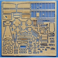 Su-2 Interior . Photo Etched update set for 1/72 ( ICM kit ) (1:72)