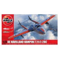 D.H. Vampire T.11 / J-28C (1:72)