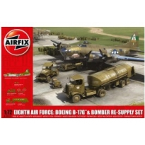 Eighth Air Force: Boeing B-17G™ & Bomber Re-supply Set 1:72 (1:72)