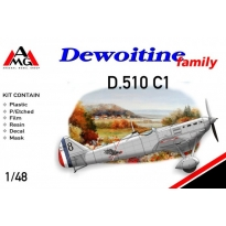 Dewoitine D.510 C1 (French A.F.) (1:48)