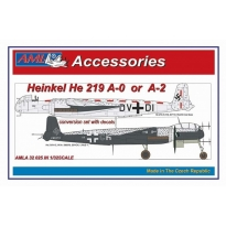 Heinkel He 219 A-0 or A-2 – The conversion set with decals: Konwersja (1:32)