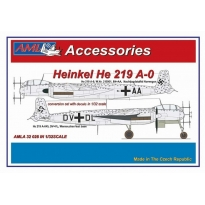 Heinkel He 219 A-0 – The conversion set with decals: Konwersja (1:32)