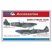 Spitfire Mk.IXe with Germany fuels – Czech AF: Konwersja (1:48)