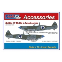 Spitfire Mk.IXe with Germany fuels - Israelian AF: Konwersja (1:48)