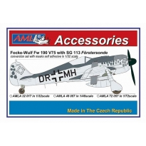 Fw 190 V75, DR+MH with SG 113: Konwersja (1:72)