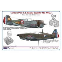 Curtiss H75A-1 & Morane-Saulnier MS-406C.I (1:32)