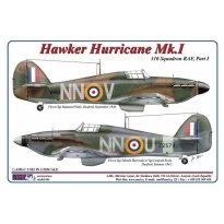 310 th Squadron RAF, Part I / Hawker Hurricane Mk.I - NNoU & NNoV (1:32)
