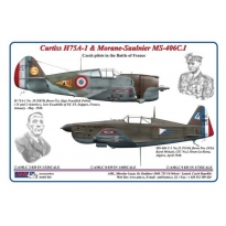 Curtiss H75A-1 & Morane-Saulnier MS-406C.I (1:48)