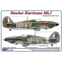 310 th Squadron RAF, Part I / Hawker Hurricane Mk.I – NNoU & NNoV (1:48)