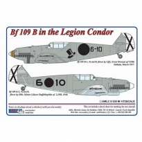 Messerschmitt Bf 109 B – Legion Condor in Spain (1:72)