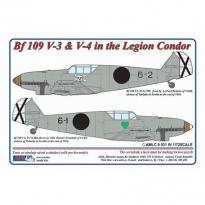 Messerschmitt Bf 109 V3,V4 – Legion Condor in Spain (1:72)